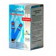 Тест-полоски Easy Touch холестерин №10