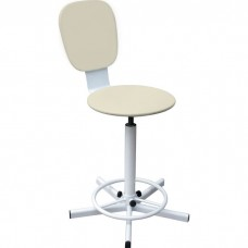 Кресло на винтовой опоре М 101-04 с опорой для ног