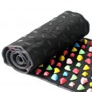 Коврик массажный с цветными камнями Massage Road 50х140 см