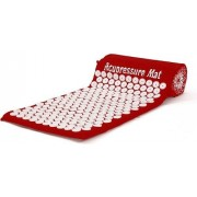 Коврик массажный ортопедический (красный) Acupressure Mat Red CS -961
