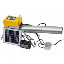 Комплект пропанового отпугивателя птиц ZonMark Solar с солнечной панелью