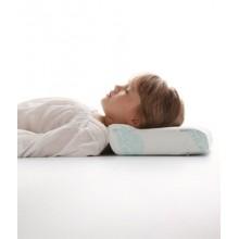 Ортопедическая подушка под голову с перфорацией 23х40х8 см OPTIMA BABY П03