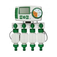Четырех зонный комплект автоматического полива Green Helper GA-325-4