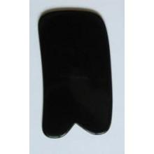 Скребок ГУАША классический Пластина роговой Черный