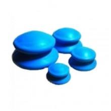 Банки вакуумные массажные резиновые (4 шт)