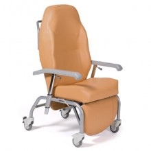 Кресло-стул повышенной комфортности с санитарным оснащением на колесах Vermeiren Normandie