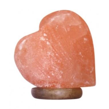Солевая (соляная) лампа Сердце