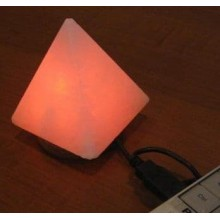 """Соляная USB лампа """"ПИРАМИДА"""""""