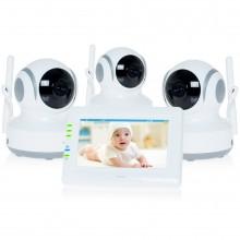 Видео-няня с 3-мя камерами Ramili Baby (Рамили Бейби) RV900X3
