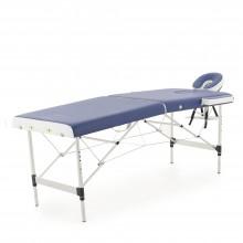 Массажный стол складной алюминиевый Med-Mos JFAL01A 2-х секционный