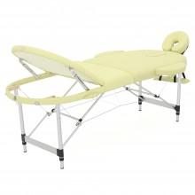 Массажный стол складной алюминиевый Med-Mos JFAL03 (МСТ3310ВЛ) М/К (3-х секционный)