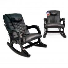 Кресло-качалка массажное EGO WAVE EG-2001 Антрацит в комплектации LUX